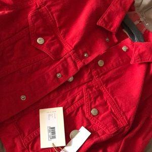 Simon Miller Red Jean Jacket